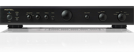Black Rotel A10 Audiophile Integrated AMplifier with moving magnet MM preamp at Steve Bennett Hi-Fi Geelong